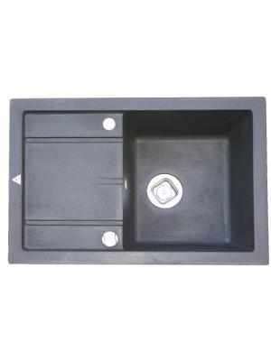 Кухонная мойка TOLERO R-112 Черный №911